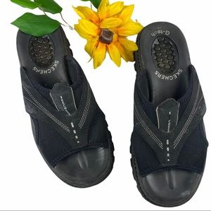 Skechers G-Tech Jammers Platform Sandals Chunky